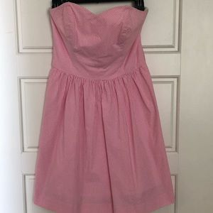 lilly pulitzer richelle seersucker dress in pink